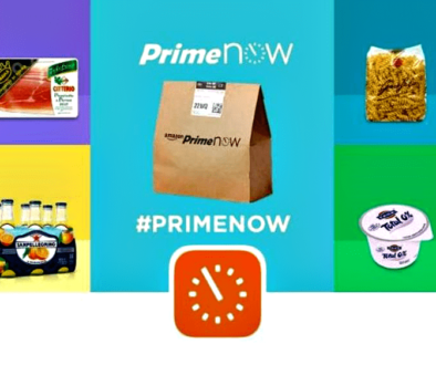 First Amazon Prime Now Experience