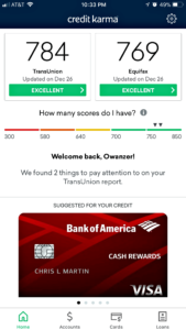 Crucifying My Credit Score - Higher Credit Score