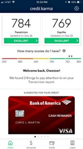 Crucifying My Credit Score - Higher Credit Score