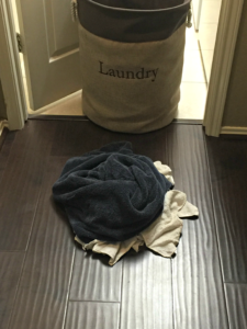 Saving Energy - Small Laundry Pile