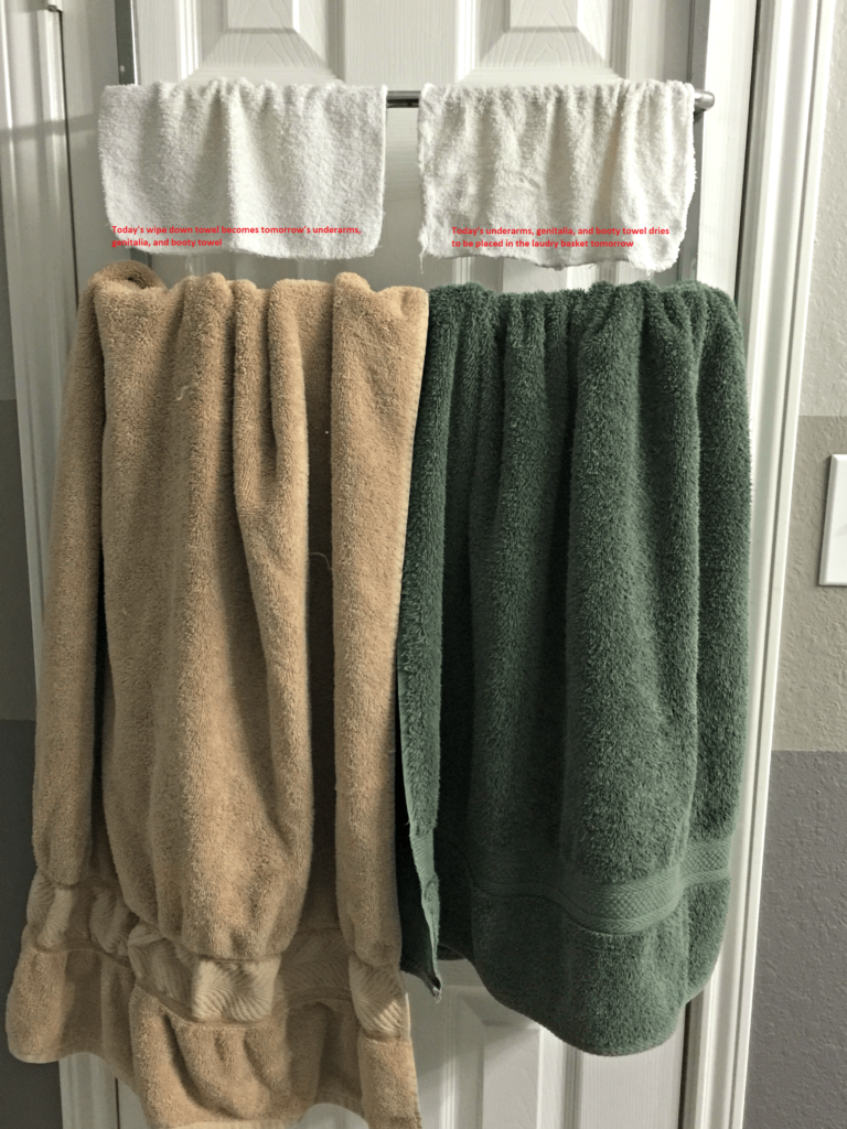 Saving Energy - Two Hand Towel System
